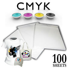 100 SHEETS A4 HIGH GRADE SUBLIMATION PAPER HEAT AND MUG PRESS TRANSFER 130GSM