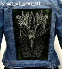FOREST OF GREY  Back Patch Backpatch ekran new