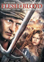 Flesh + Blood (1985 Rutger Hauer) (Flesh and Blood) DVD NEW