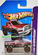 HOT WHEELS 2013 SUPER TREASURE HUNT '10 TOYOTA TUNDRA CARD VARIATION