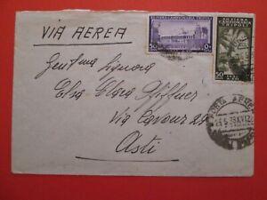 1938 REGNO - LIBIA busta da TRIPOLI x ASTI