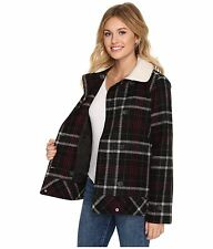 New Vans Womens Spirit Animal Double Breasted Wool Blend Casual Jacket XS $130