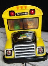 le bus scolaire musicale de Franklin 7 personnages Lansay 26/16 cm