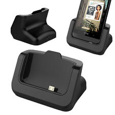 NEW HTC One M8 Desk Cradle Charger with USB Cable Mobile Smartphone Accessories