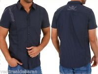 Camicia Uomo Maniche Corte Shirt URBAN SURFACE 98-86 A785 Tg S M L