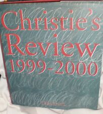 CHRISTIE'S AUCTION GALLERY REVIEW 1999 -2000 LARGE COLORFUL NEW FREE SHIPPING