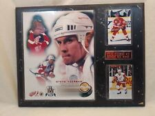Steve yzerman Limited Edition Numbered Collectors Plaque - Conn Smythe Winner