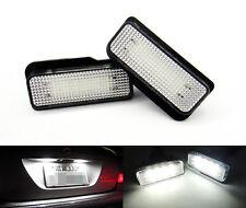 2x For Mercedes-Benz W219 License Plate 18 SMD LED Light Kit Error Free White