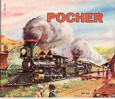 Catalogo POCHER 1964-65 HO    FIAT 1300 scale 1:13            F E D           aa