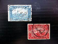 CANADA 20c & 50c SG283 & 302 Fine/Used Cat £36 FP9038