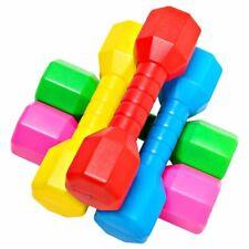 Children Dumbbell 2Pcs Outdoor Plastic Fitness Equipment Kids Sport Exercise Toy