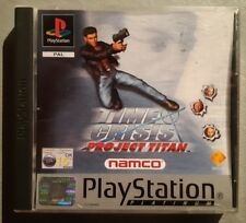 Jeu TIME CRISIS PROJECT TITAN -Playstation 1 (PS1)- Platinum -FR (PAL)- Complet