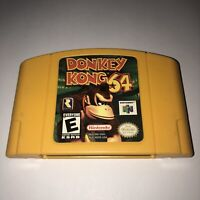 Donkey Kong 64 N64 Nintendo 64 TESTED Game Cartridge AUTHENTIC OEM 100% GENUINE