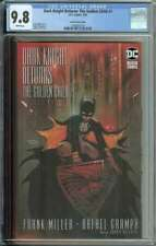 Dark Knight Returns: The Golden Child #1 CGC 9.8 Jones Variant Cover