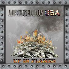 ARMAGEDDON (USA)- UP IN FLAMES (CD, 2015, Private Press) Raven,Metal Church Xian