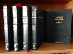 Lot of (5) Facsimile Reprints of Collector's Library of the CIVIL WAR Time-Life