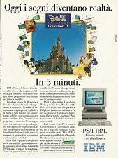 X7137 PS/1 IBM - Computer - Pubblicità 1993 - Advertising