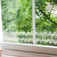 10m Window Decor Lace Mirror Sticker Waistline Wall Stickers Home Decor SW