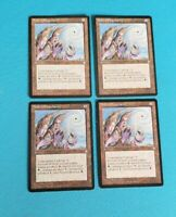 MTG x4 Naked Simularity Artifact playset Moderate Play Magic Ice Age un-common