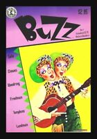 "BUZZ COMIC #1, 1990, MARK LANDMAN, KITCHEN SINK, UNDERGROUND COMIC ""RARE"""