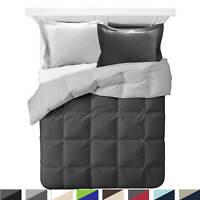 Comforter All Season Down Alternative Soft Reversible Light Blanket with Shams