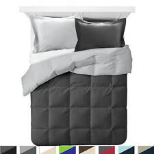 Comforter All Season Down Alternative Soft Reversible Light Blanket with Shams