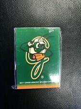 2011 Greensboro Grasshoppers Team Card Set (Yelich, Realmuto & Ozuna)
