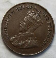 Canada 1923 Small Cent, Nice Grade, Key Date KGV