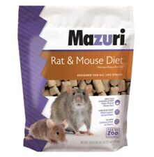New listing Mazuri Rat and Mouse Diet, 5663, 2lb Bag, For All Life Stages, Rodent Food