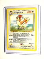 PIDGEOTTO - Base Set - 22/102 - Rare - Unlimited Edition - NM