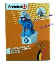 Les SCHTROUMPFS figurine édition limitée PLONGEUR NAGEUR BELGE Jeux Olympiques 3
