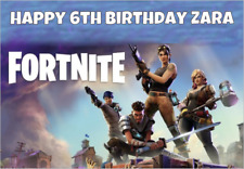 LARGE A5 GLOSSY PERSONALISED FORTNITE BIRTHDAY CARD