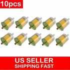 10x 5/16 Fuel Filters Industrial Motorcycle RVs Inline Gas Fuel Line Universal