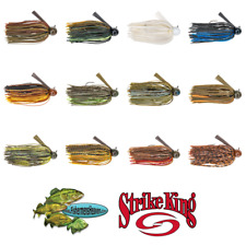 Strike King Jigs Football Touchdown Tour Grade TDJ Pick Any Size or Color Lures