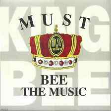 KING BEE FEATURING MICHELE - MUST BE THE MUSIC 1990 UK CARD SLEEVE CD SINGLE CBS