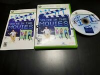 You're in the Movies (Microsoft Xbox 360, 2008) COMPLETE! TESTED! FREE SHIPPING!