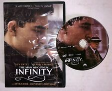 The Man Who Knew Infinity (DVD, 2016) Dev Patel, Jeremy Irons, Devika Bhise