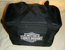 Harley Davidson Charcoal Barbecue BBQ Grill Portable w/Bag Tools