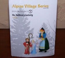 "New Dept 56 Alpine Village ""The Children'S Nativity"" Christmas Accessory 4056622"