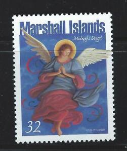 Marshall Islands Sc 670 Christmas Midnight Angel 1998