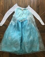 Girl's Disney Collection Elsa Dress FROZEN Sz 9-10  New w Tags