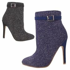 Zip Stiletto Synthetic Ankle Boots for Women