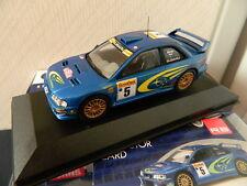 Vanguards Corgi VA12303 Subaru Impreza S5 WRC 1999 Burns and Reid