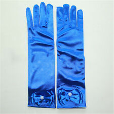 Flower Girls Gloves Royal Blue Women Girls' Accessories Kids Wedding Bridal New