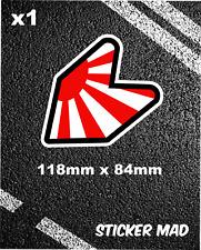 JDM Sun Japan Sticker WAKABA Car / Bumper / Window / Vinyl Decal  Nissan Drift