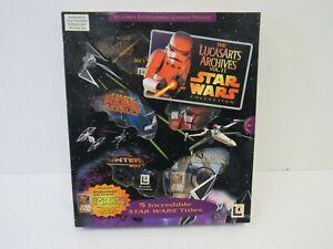 PC GAMES Star Wars Lucas Arts Archives VOL II x 4  1 CD Special Making - SAL L26
