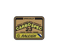 Raleigh Carbospec Decal Stickers old school BMX Restoration decals