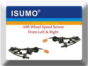 2 x ABS Wheel Speed Sensor Front-Left/Right Fits:Honda Fits: Honda Fit 2007-2008