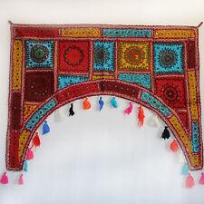 Türbehang Toran Thorang  Patchwork 100 cm Rundbogen Tür Bogen Wandbehang  Bunt