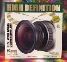 Raynox HD-7062PRO 7062 PRO 0.7x Wide Angle Lens 62mm -> Sony HDR-FX7 18-200 135